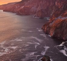 Setting Sun At Slieve League Sticker