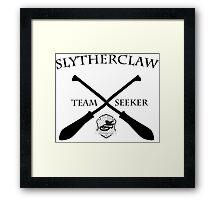 Slytherclaw Team Seeker Framed Print