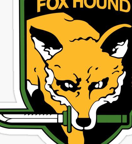 Fox Hound Sticker