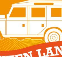 Queen Land 109 SW Sticker