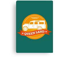 Queen Land 109 SW Canvas Print