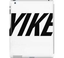 Yike, Nike parody. iPad Case/Skin
