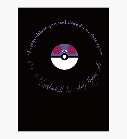 A Masterball to catch them all Photographic Print