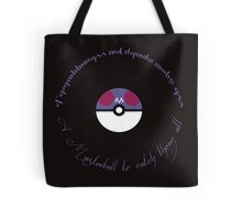 A Masterball to catch them all Tote Bag