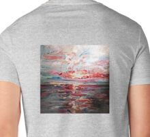 sunset on the bay  Mens V-Neck T-Shirt