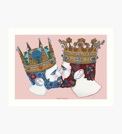 Two Kingdoms  Art Print