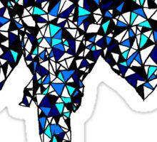 Triangle elephant Sticker