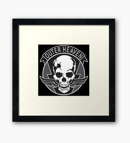 Outer Heaven Framed Print