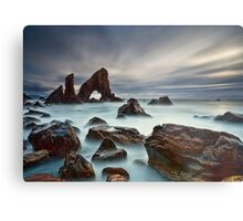 Sea Arch At Crohy Head Metal Print