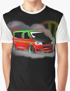 Green and red Apple T5 stance Graphic T-Shirt