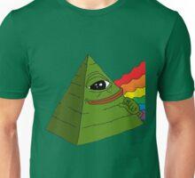Pyramid Pepe Frog Unisex T-Shirt