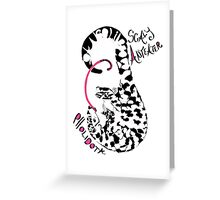 Pangolin, Scaly Anteater Greeting Card