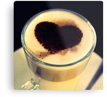 I Like Coffee - Dwi'n Hoffi Coffi Metal Print