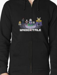 Undertale Crew w/logo  T-Shirt