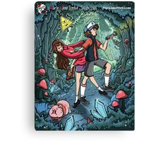 Gravity Falls Canvas Print