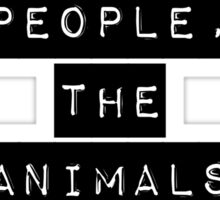 Bold Type Vegan for the people  Sticker