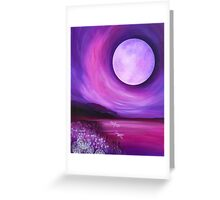 Tranquil Moon Greeting Card