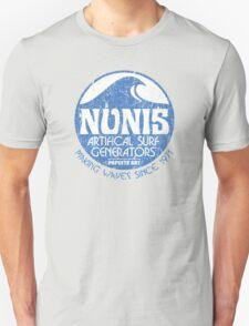 Nunis Wave Machine Co - Distressed T-Shirt