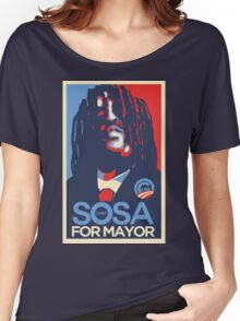 Chief Keef for mayor Women's Relaxed Fit T-Shirt