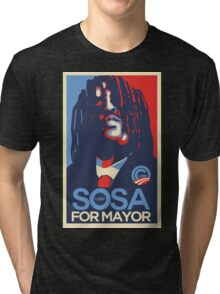 Chief Keef for mayor Tri-blend T-Shirt