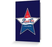 100% American Patriot Cola! Greeting Card