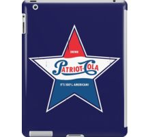 100% American Patriot Cola! iPad Case/Skin