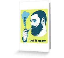 Beard Greeting Card