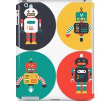 Retro Robots iPad Case/Skin