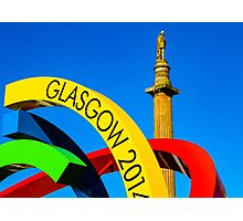 Glasgow 2014 Big G Photographic Print