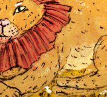 Lion Sticker Sticker