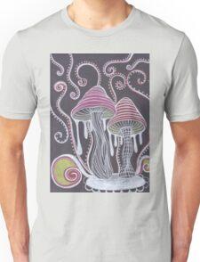 Trippy Mushroom Unisex T-Shirt