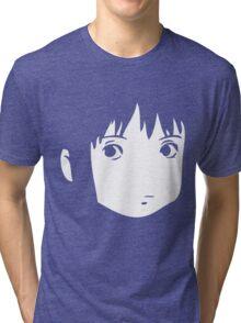 Chihiro Face Tri-blend T-Shirt