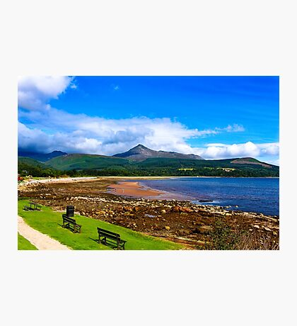 Arran Beach Photographic Print