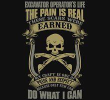 Excavator Unisex T-Shirt