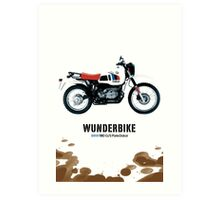 bmw R80 g/s paris-dakar edition Art Print