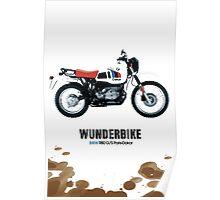 bmw R80 g/s paris-dakar edition Poster