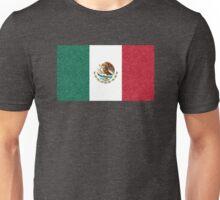 Paisley Mexican Flag Unisex T-Shirt