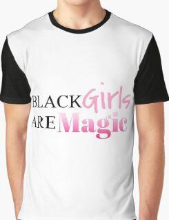 Black Girls Are Magic Graphic T-Shirt