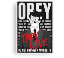 They Live Canvas Print