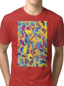 Vector Retro Poster Tri-blend T-Shirt