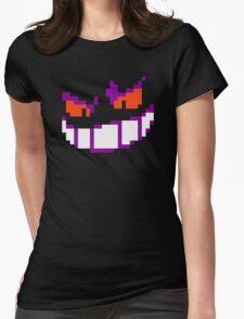 Pokemon - Gengar Sprite Womens Fitted T-Shirt