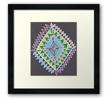 Trippy Design Framed Print