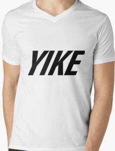 Yike, Nike parody. Mens V-Neck T-Shirt