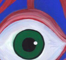Trippy Eyeball Sticker