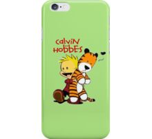 Calvin and Hobbes doll iPhone Case/Skin