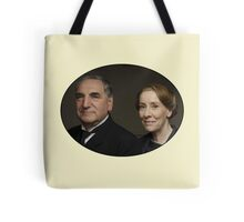 """Mr Carson e Mrs Hughes"" Downton Abbey Tote Bag"