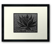 Domino Black Lotus - 22 sets Framed Print