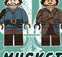 The Musketeers Sticker