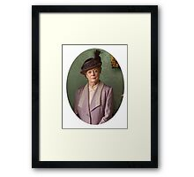 Lady Violet Downton Abbey Framed Print