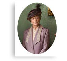 Lady Violet Downton Abbey Canvas Print